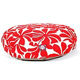Majestic Outdoor Red Plantation Round Pet Bed