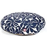 Majestic Outdoor Navy Plantation Round Pet Bed