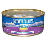 Natural Balance Ultra WBH Venison Can Cat Food
