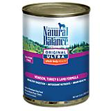 Natural Balance Ultra WBH Venison Can Dog Food