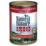 Natural Balance LID Buffalo Can Dog Food