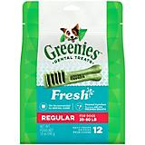 Greenies Freshmint Dog Dental Chew Regular