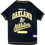 MLB Oakland Athletics Dog Tee Shirt