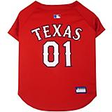 MLB Texas Rangers Dog Jersey