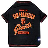 MLB San Francisco Giants Dog Tee Shirt