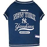 MLB New York Yankees Dog Tee Shirt