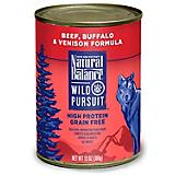 Natural Balance Wild Pursuit Beef Can Dog Food