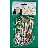 Holiday Rawhide Candy Cane Dog Treat 20 Pack
