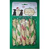 Holiday Dual Munchie Sticks Dog Treat 20 Pack