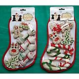 Canes and Bones XLarge Dog Treat Holiday Stocking