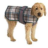 Petrageous Kodiak Gray Plaid Dog Coat