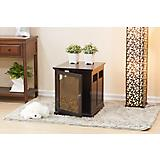 Digger Dog Crate with Metal Floral Design