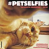 PetSelfies 18-Month 2016 Calendar