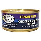 Triumph Grain Free Chicken/Whitefish Can Cat Food
