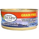 Triumph Grain Free Turkey/Giblet Can Cat Food 24pk