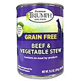 Triumph Grain Free Beef/Vegetable Can Dog Food