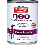 Hi-Tor Veterinary Select Neo Can Dog Food 12 Pack