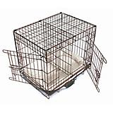 Grow-N-Go Double Door Dog Crate with Bed