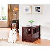 Elegant Home Fashions St James End Table Dog Crate