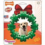 Nylabone Holiday Dura Chew Green Wreath Dog Chew