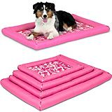 SnooZZy Pink Durable Dog Crate Mat