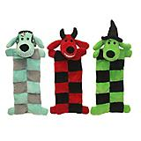 Multipet Halloween Loofa Squeaker Mat Dog Toy