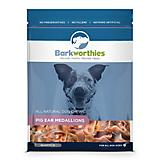 Barkworthies Pig Ear Medallions Dog Chew 12-Pack