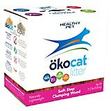 Okocat Soft Step Clumping Wood Cat Litter