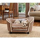 Enchanted Home Pet Teddy Mocha Snuggle Dog Bed
