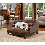 Enchanted Home Pet Madison Brown Velvet Dog Bed