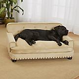 Enchanted Home Pet Library Caramel Plush Dog Bed