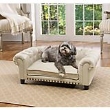 Enchanted Home Pet Melbourne Khaki Tufted Dog Bed