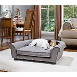 Enchanted Home Pet Brisbane Grey Tufted Dog Bed