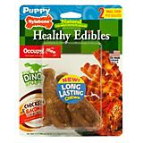 Healthy Edibles Dinosaur Twin Pack Puppy Chew