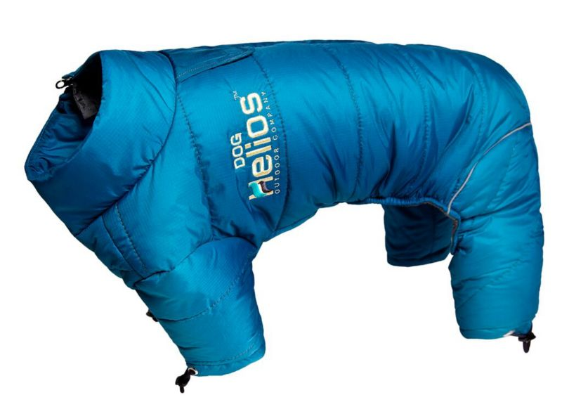 Helios Full Body Reflective Dog Snowsuit MD Blue (PET LIFE LLC JKHL6BLMD 858342003360 Dog Supplies Clothes) photo