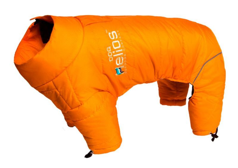 Helios Full Body Reflective Dog Snowsuit SM Orange (PET LIFE LLC JKHL6ORSM 858342003308 Dog Supplies Clothes) photo