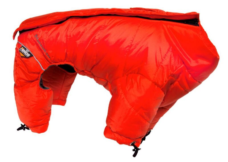 Helios Full Body Reflective Dog Snowsuit SM Red (PET LIFE LLC JKHL6RDSM 858342003209 Dog Supplies Clothes) photo