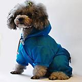 Pet Life Waterproof Zipper Dog Raincoat
