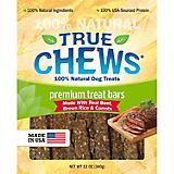 True Chews Beef/Brown Rice/Carrot Bar Dog Treat