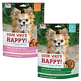 Look Whos Happy Carrot Wraps Dog Treat