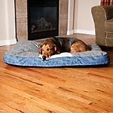 KH Mfg Classic Vintage Gray/Blue Dog Bed