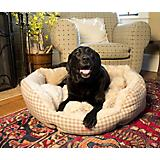 Iconic Pet Luxury Beige Napperz Pet Bed