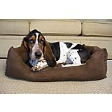 Iconic Pet Luxury Cocoa Swaddlez Pet Bed