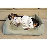 Iconic Pet Luxury Moss Swaddlez Pet Bed