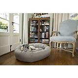 Jax and Bones Mod Ash Cotton Donut Dog Bed