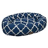Jax and Bones Monaco Indigo Donut Dog Bed