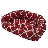 Jax and Bones Monaco Scarlet Napper Dog Bed