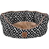 SnooZZy IKAT Ease Navy Clamshell Dog Bed