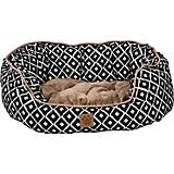 SnooZZy IKAT Ease Navy Daydreamer Dog Bed