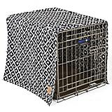 SnooZZy IKAT Ease Navy Dog Crate Cover